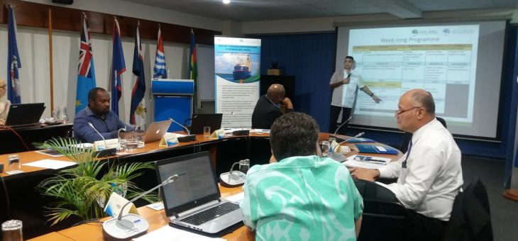 Maritime Technology Cooperation Centre in Pacific hosts its First Advisory Group Meeting