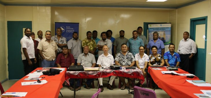 MTCC-Pacific supports Energy Efficiency within the Tuvalu Maritime Sector