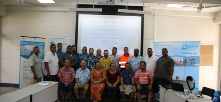 Samoa Government calls for Transition to Energy Efficiency within its Maritime Sector