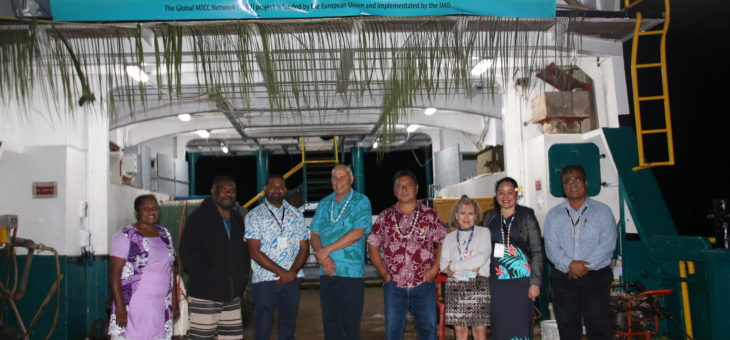 Solar power pilot project reducing greenhouse gas emissions for Vanuatu's 'Tiwi Trader'